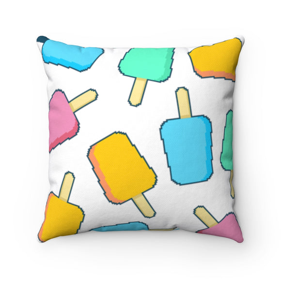 Popsicle square pillows
