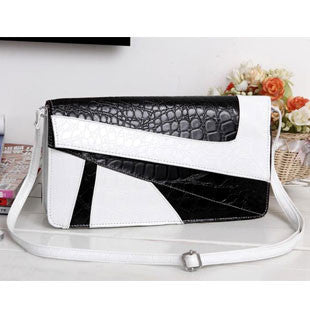 Soft PU Casual Serpentine Pattern Vintage Small Cross-Body Handbags