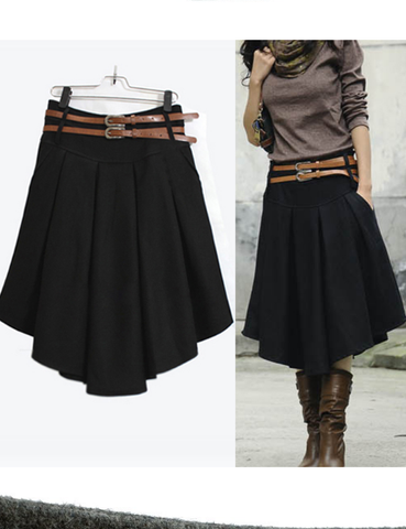Half-length Winter Skirt