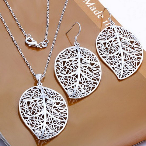 High Quality Silver Fashion Jewelry Set