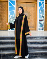Arabian Kaftan-Black*Green