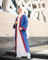 Arabian Kaftan-Blue*Red
