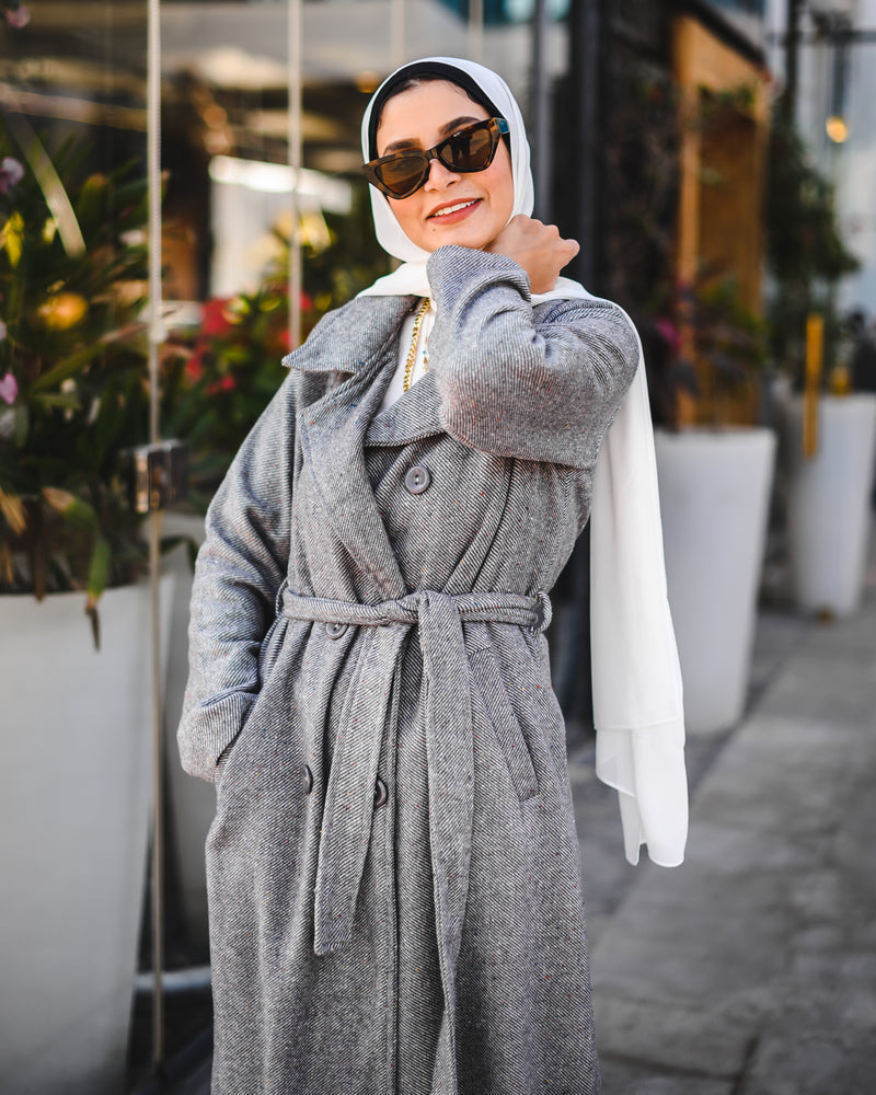 Wool Coat-Grey