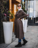 Wool Coat-Brown