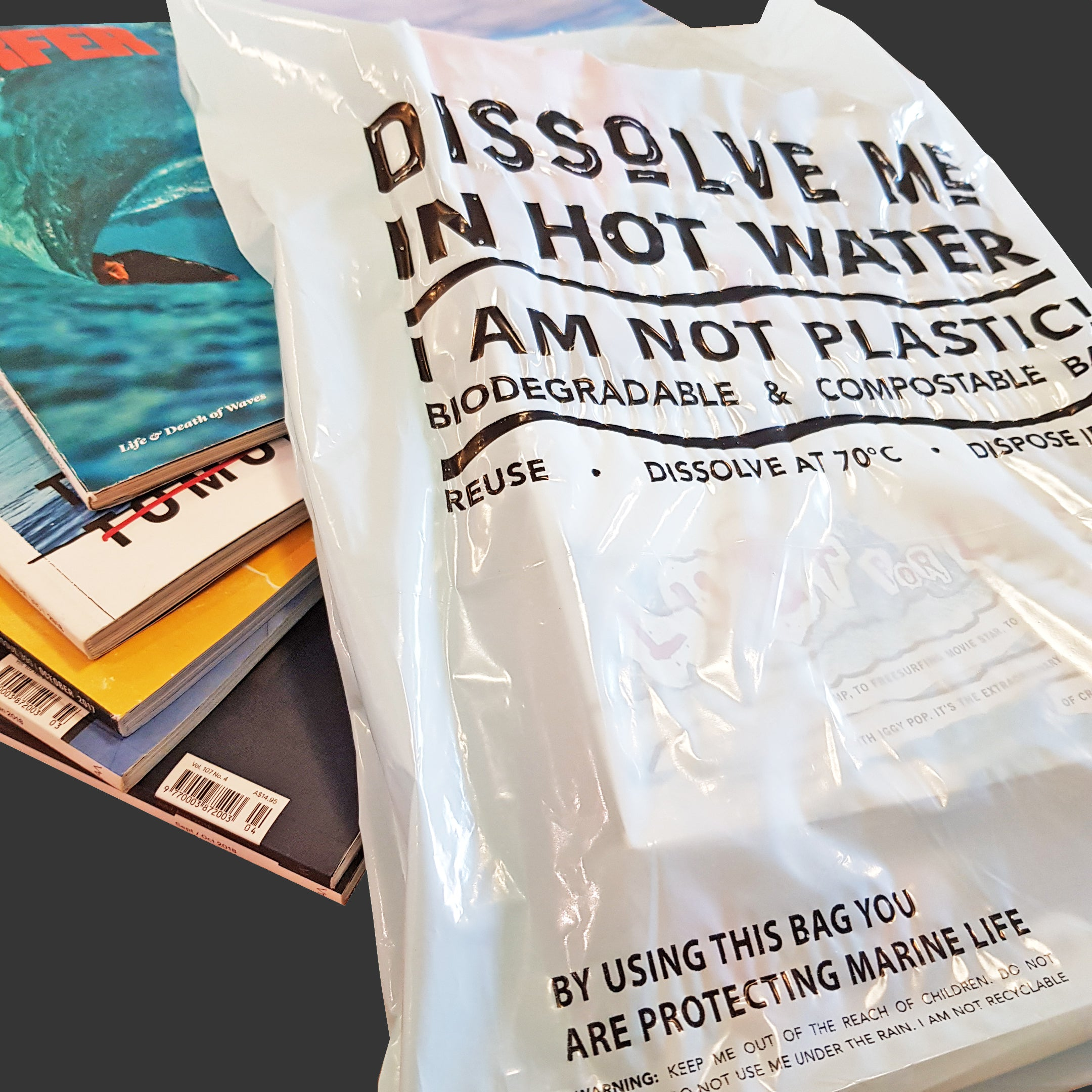 Shopping Bags | Water-Soluble & Compostable