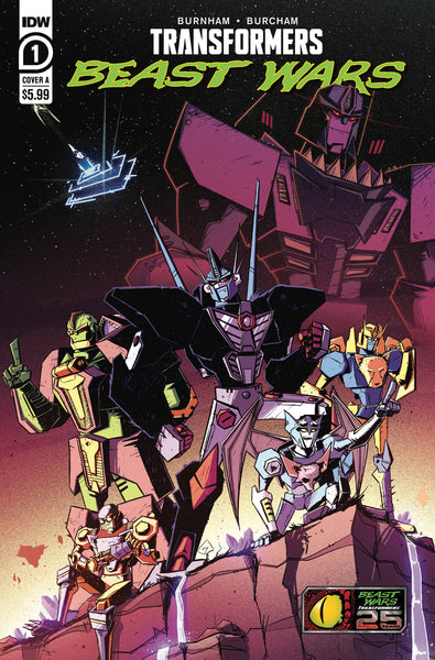 Transformers: Beast Wars #1 Cover A / IDW (03/02/21)