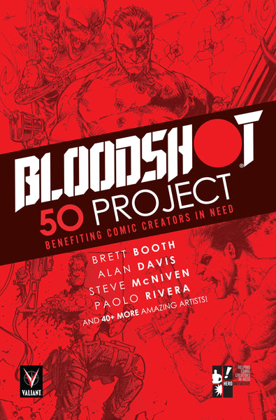 Bloodshot: 50 Project TPB / Valiant Comics