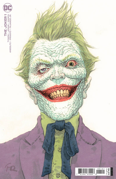 The Joker #1 Cover B Frank Quitely / DC Comics (10/03/21)