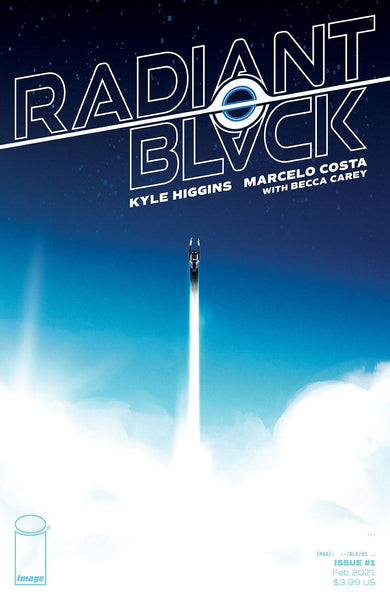 Radiant Black #1 Cover B / Image Comics (17/02/21)