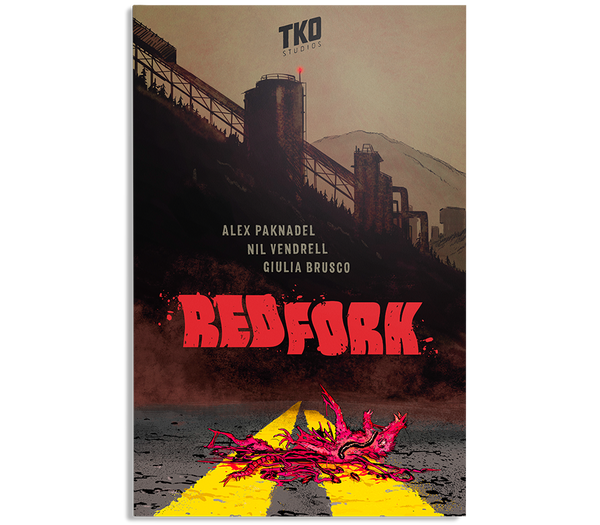 Redfork by Paknadel & Vendrell TPB / TKO Presents