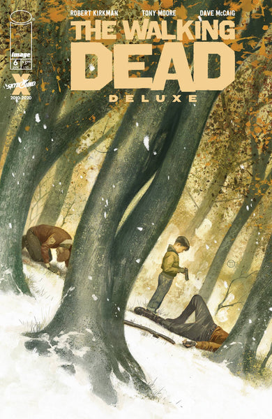 The Walking Dead Deluxe #6 Cover D / Image Comics (06/01/21)