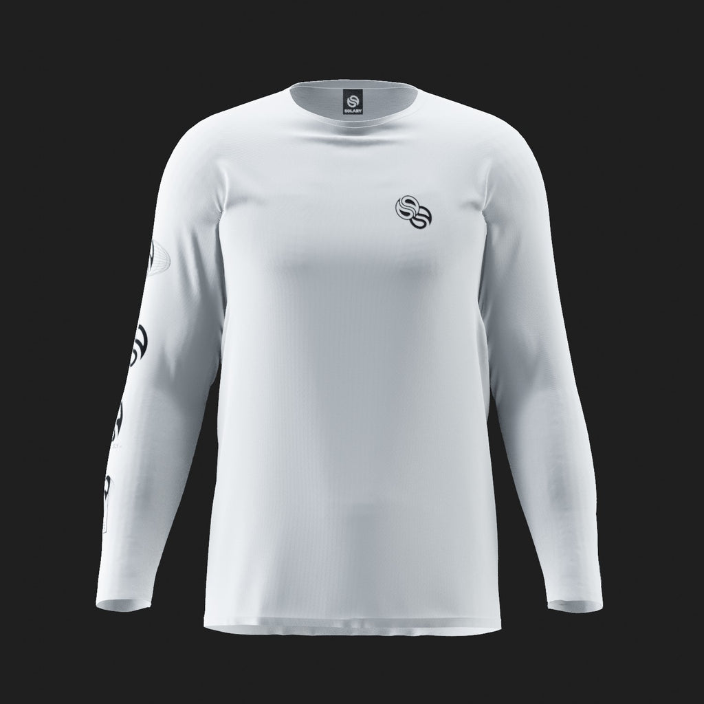 Long Sleeve Blanc