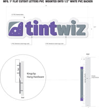 Load image into Gallery viewer, Tint Wiz Wall Sign