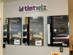 Tint Wiz Wall Sign