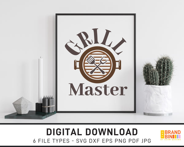 Grill Master - SVG Digital Download