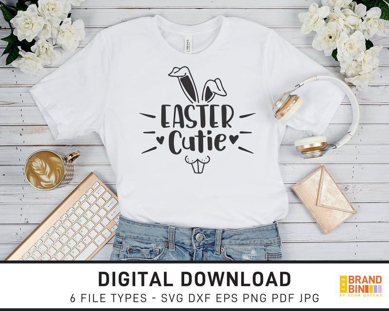 Easter Cutie - SVG Digital Download