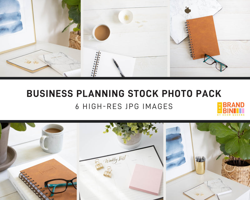 Business Planning Stock Photo Pack