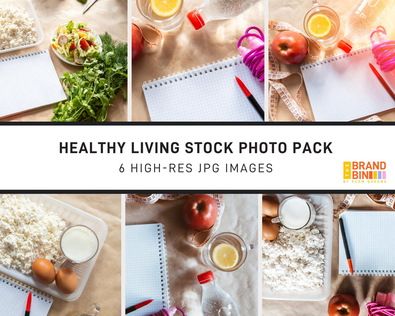 Healthy Living Stock Photo Pack