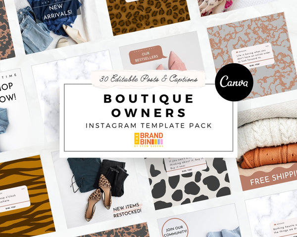 Boutique Owners Social Media Banners