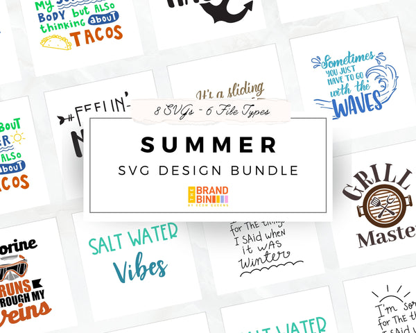 Summer SVG Bundle Digital Designs
