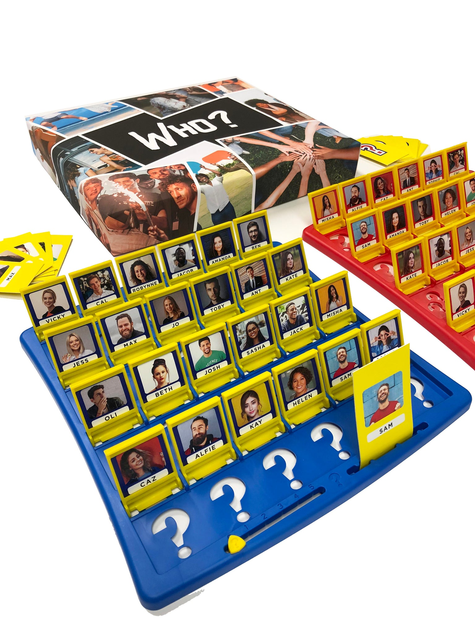 Custom Who? Board Game