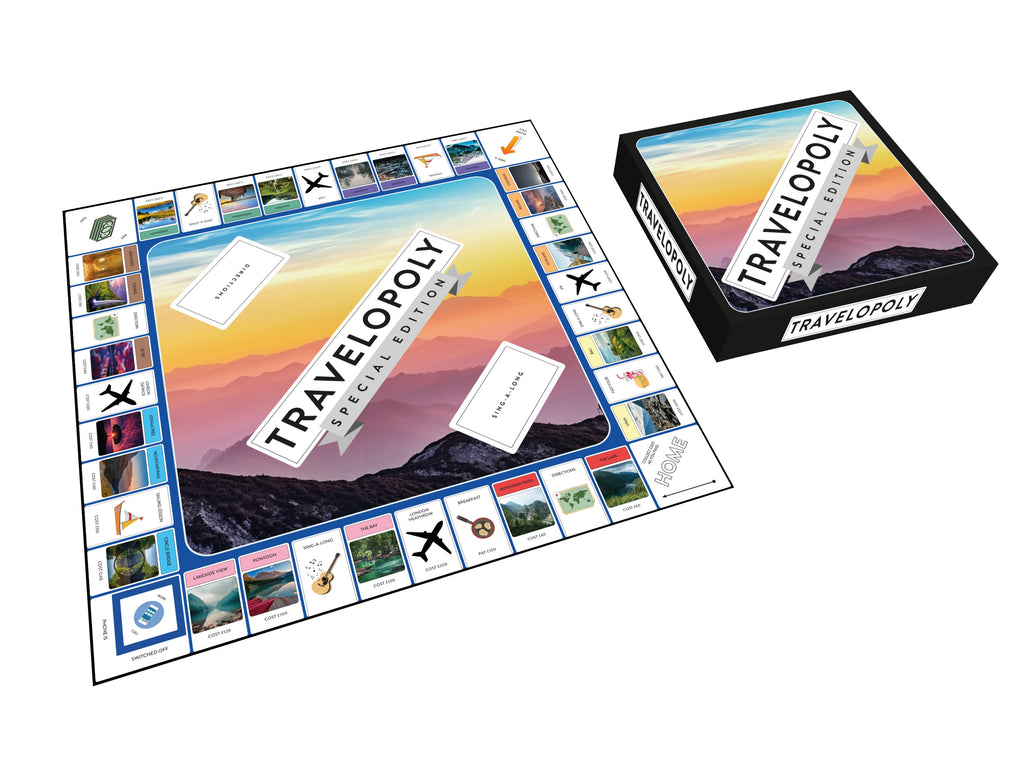 Custom-opoly Board Game (Deluxe)