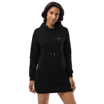 Hoodie dress || Peace