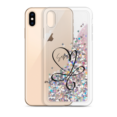 iPhone Case glitter || Sabr