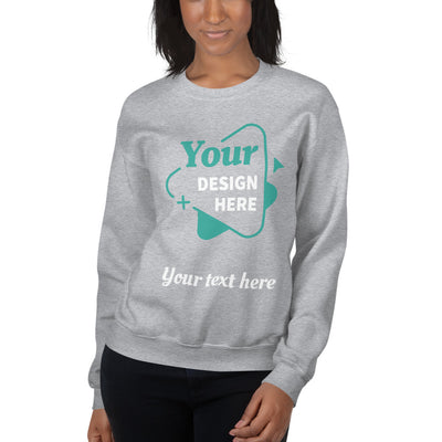 Your own customized Image & Text Sweatshirt