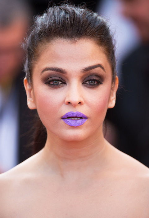 CANNES BEAUTY TREND: AISHWARYA RAI'S PURPLE LIPSTICK