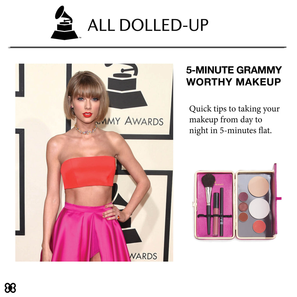 5-Minute Grammy Worthy Red Carpet Makeup Tricks
