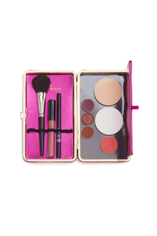 Dollup Case magnetic palette naked palette to store and organize makeup for travel touch-ups