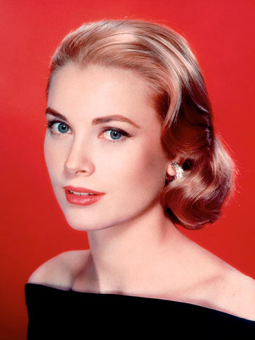 Grace Kelly wedding makeup and wedding hair