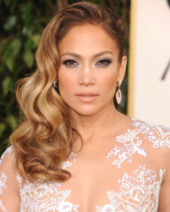 Jennifer Lopez makeup at the oscars -- beautiful wedding day makeup trend