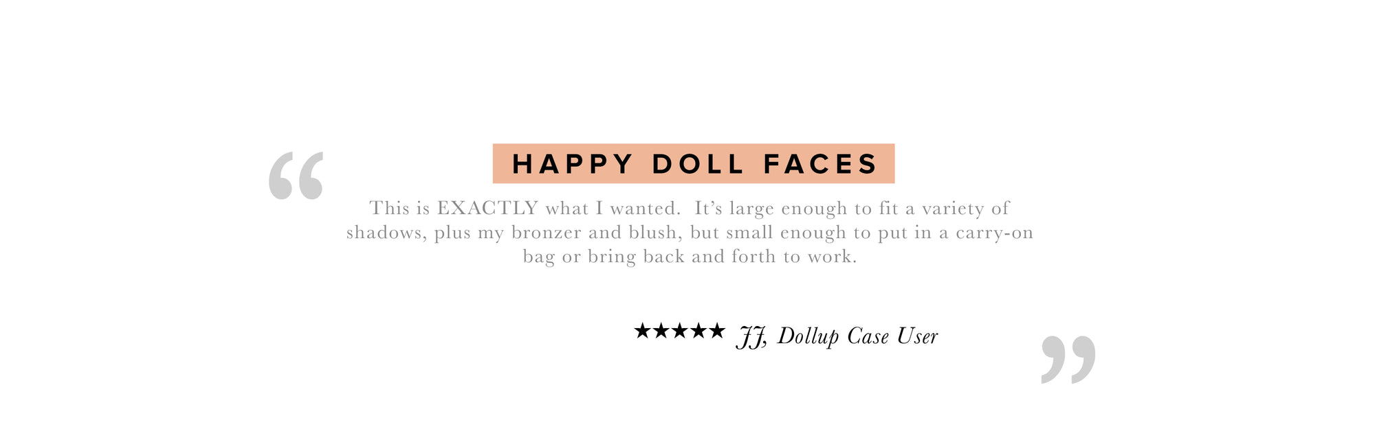 Happy Doll Beauty faces review all natural products