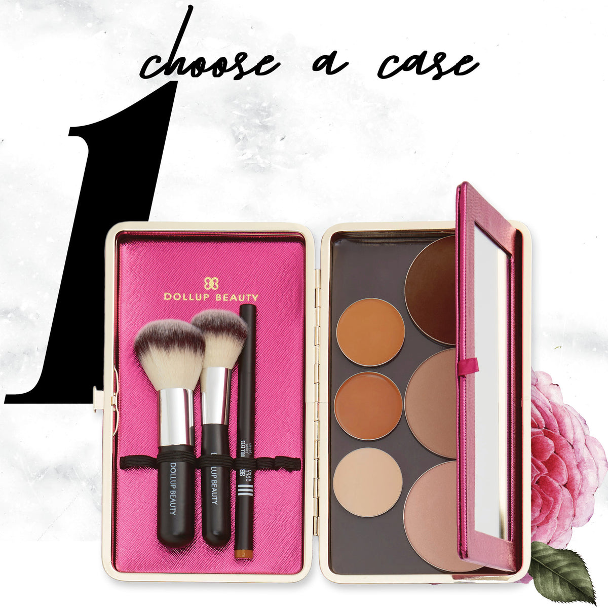 Dollup Case Makeup Organizer