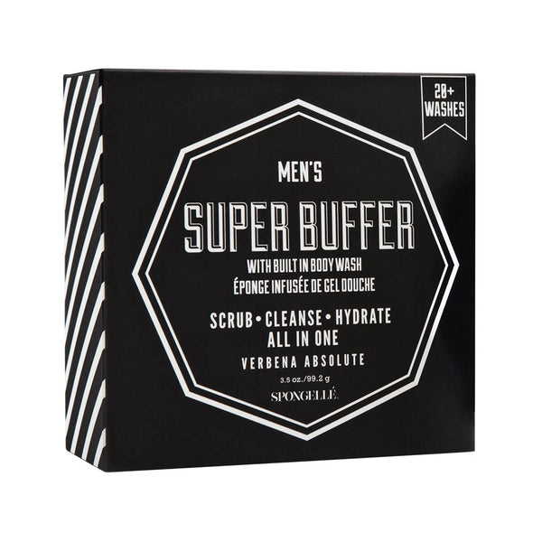 Spongellé - 20+ Men's Super Buffer (Verbena Absolute)