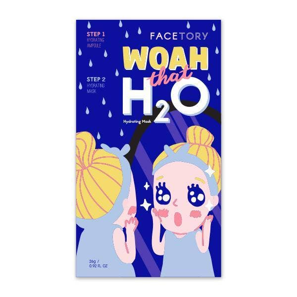 FaceTory - Woah That H2O Hydrating Mask