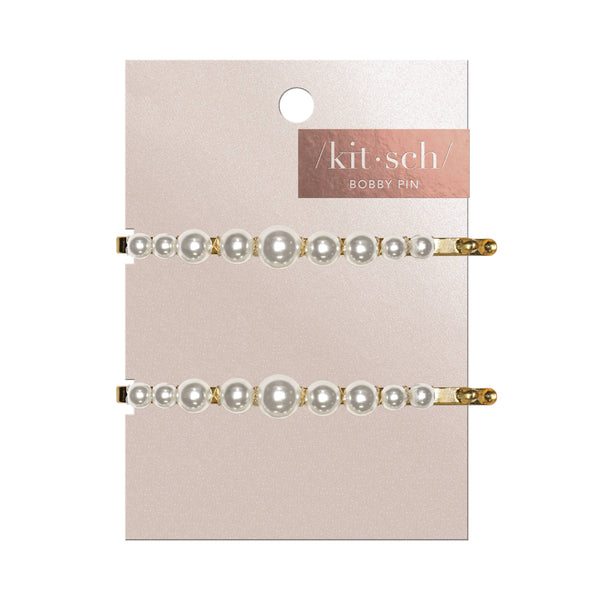 KITSCH - Pearl Bobby Pins