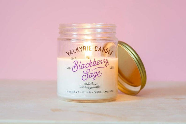 Valkyrie Candle - Blackberry Sage Candle