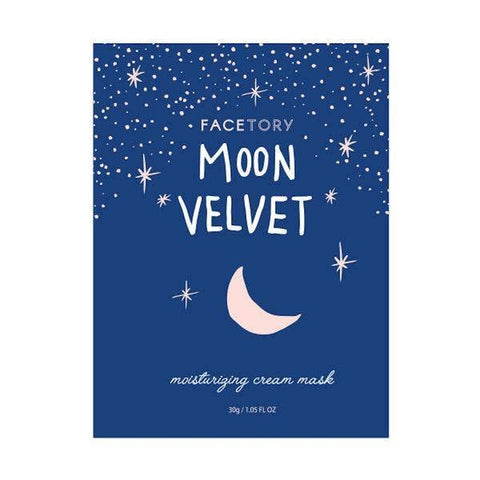 FaceTory - Moon Velvet Moisturizing Cream Mask