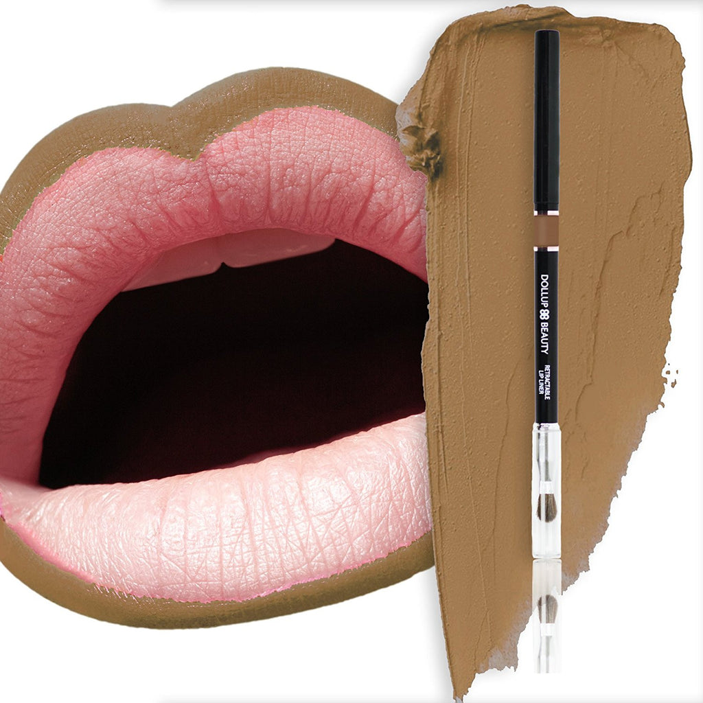 Dollup Beauty Automatic Lip Liner Color (Cappuccino)