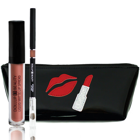 Words to Lip By Lippie Kit - Don't Lose Your Faith or Lipstick