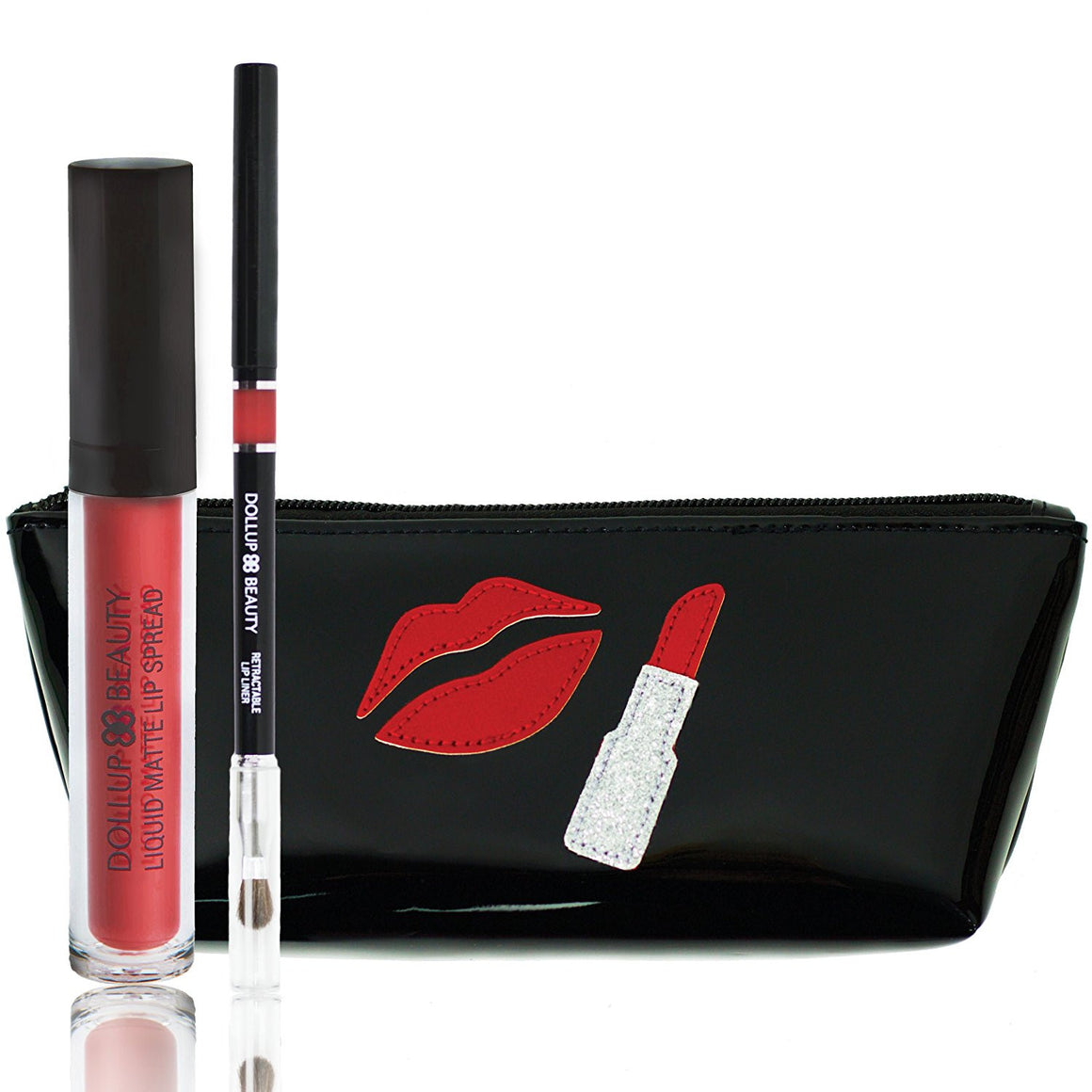 Words to Lip By Lippie Kit - Lips Laugh Love