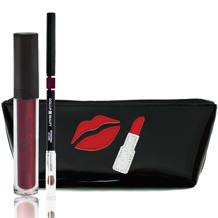 Words to Lip By Lippie Kit - Lipstick Brings Joy to the World