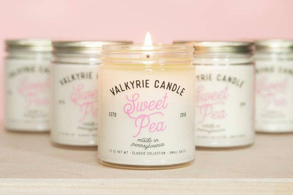 Valkyrie Candle - Sweet Pea Candle