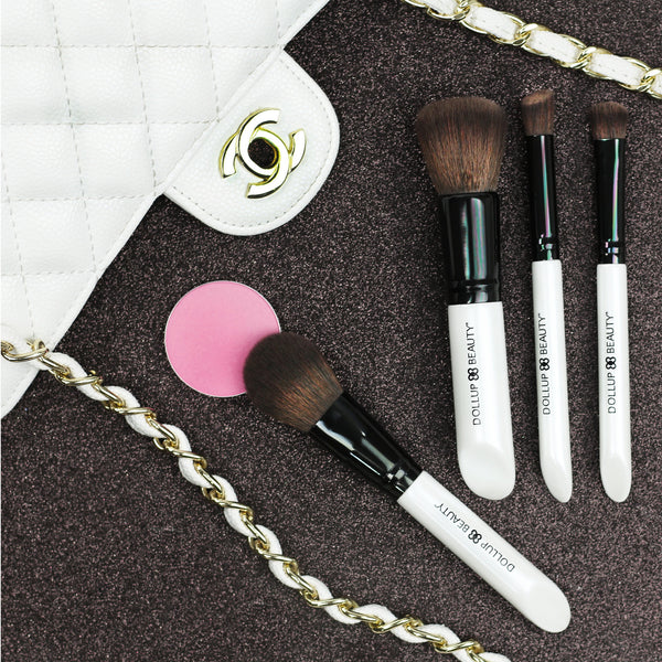 Bunny Soft Luxe Non Shedding Makeup Brushes Dollup Beauty