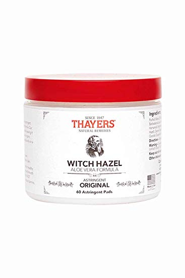 Witch Hazel Pads