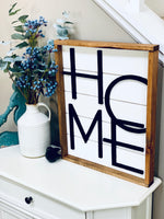 Load image into Gallery viewer, Geometric Home sign