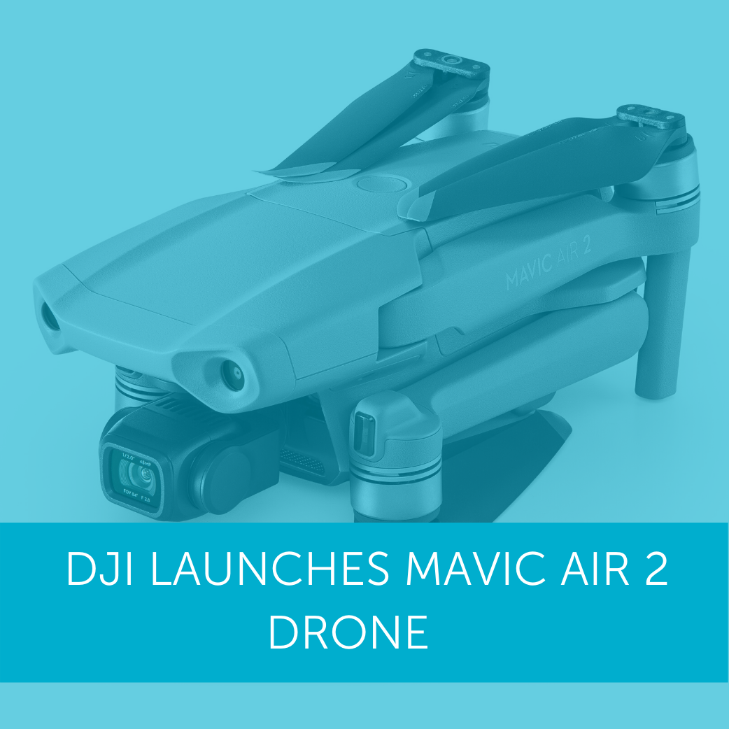 DJI Launches Mavic Air 2 Drone; Discounts Available
